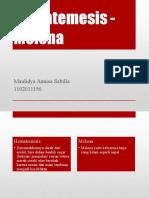 Diskusi Hematemesis - Melena