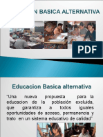 Educacion Basica Alternativa