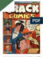 Crack comics #1  May 1940