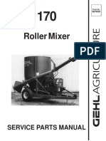 Roller Mixer PartsManual