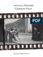 (Studies in German Literature, Linguistics, And Culture (Unnumbered)) Stephen Brockmann-A Critical History of German Film (Studies in German Literature Linguistics and Culture) -Camden House (2010)