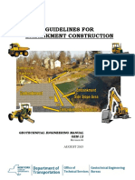 Guidelines for Embankment Constructions