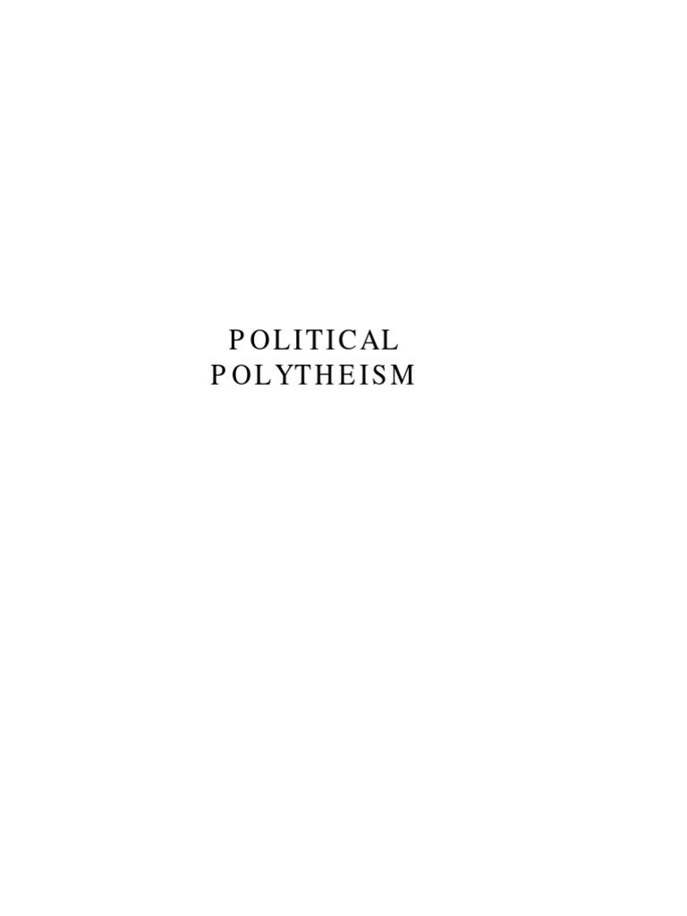 Political Polytheism Covenant Theology Religious Pluralism Loz Mini 1607 Md Burger