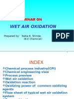 Wet Air Oxidation