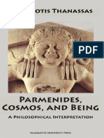 Parmenides Cosmos Being