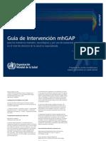 Guía de Intervención MhGAP