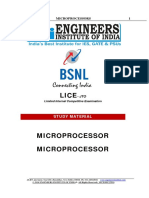 Microprocessors Jto Lice Study Material Sample
