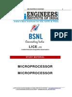 Microprocessors Jto Lice Study Material Sample