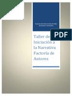 Resumen planificar novela-Factoria de autores