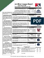 8.28.16 Minor League Report