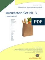 DaZ Material Grundschule Lebensmitteln