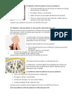 formas de planificación o anti conceptivos