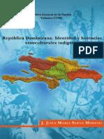 vol 108. República Dominicana, Identidad y Herencias Etnoculturales IndÃ-genas. J. Jesús MarÃ-a Serna Moreno.pdf