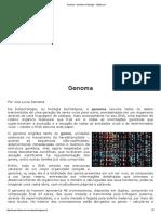 Genoma - Genética e Biologia - InfoEscola