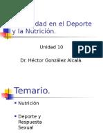 Sexualidad en El Deporte y La Nutrición.