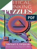 Michael a. DiSpezio, Myron Miller Critical Thinking Puzzles