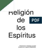 Religión de Los Espíritus