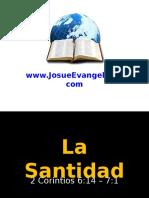 5. La Santidad
