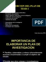 Elaboracion Del Plan de Tesis (Desde Problema Hasta Hipotesis)