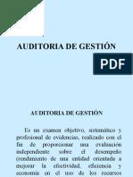 Auditoría de Gestión
