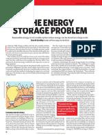 The Storage Problem