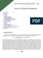 Notaciones de Calculo Diferencial
