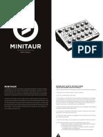 Minitaur Manual 0