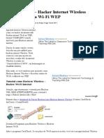 Hackear WiFi - Hacker Internet Wireless Descobrir senha Wi-Fi WEP.pdf