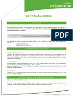 [CDG72] Travail Isole