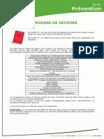 [CDG72] Trousse de Secours
