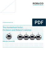 Momentum Factor Basics and Robeco Solution