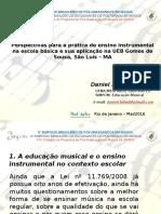 O Ensino Instrumental na Educação Básica