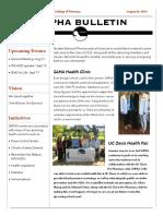 snpha newsletter - august final
