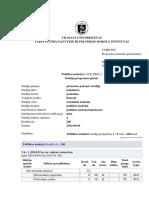 Politikos Mokslu Bakalauro Studiju Planas_2014