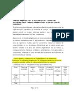 Dimensionamiento Del Poste Solar de Iluminación Autonoma en El Campus Universitario de La Uap