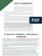 Derecho Subjetivo CORRECTO 08.06.16