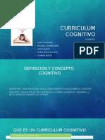 Curriculum Cognitivo