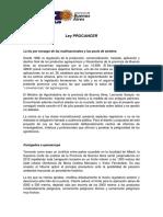 Documento contra la Ley de Agrotoxicos-CTA Autónoma Pcia. BsAs