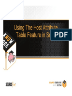 Snort Using Host Attribute Table