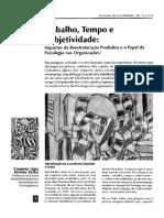 TRABALHO TEMPO E SUBJETIVIDADE_IMPACTOS DA REETRUTURAÇÃO PRODUTIVA E O PAPEL DA PSICOLOGIA NAS ORGANIZAÇÕES.pdf