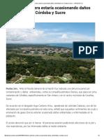 Industria Petrolera Estaría Ocasionando Daños Ambientales en Córdoba y Sucre - LARAZON