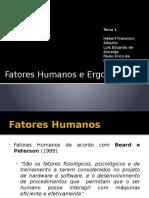 220629904 Fatores Humanos e Ergonomia