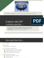 4 DIP - Sujetos Del DIP Cont (1)