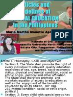 policiesandguidelinesofspecialeducationinthephilippines-120427023552-phpapp01