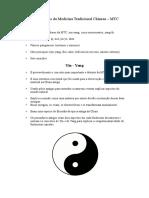 1ª Aula Yin-Yang - 5 Elementos