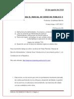 Preguntas Para El Parcial de Derecho Público 3