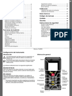 Manual Distanciometro Stanley TLM330 ES