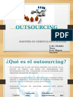 Outsourcing and Empowerment