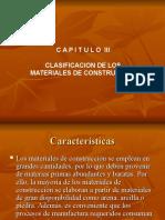3. Clasificacion de Los Materiales
