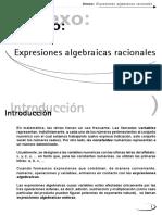 Anexo Expresiones Algebraicas Racionales